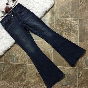 American Eagle Hi Rise Artist Super Stretch Jeans